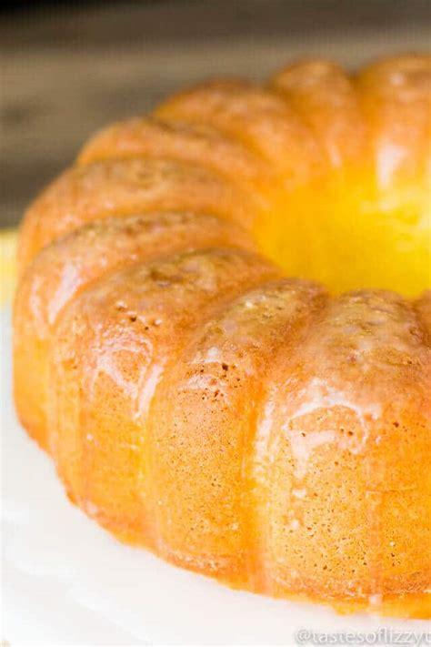 Lemon Pound Cake Recipe {easy Semihomemade Pound Cake W
