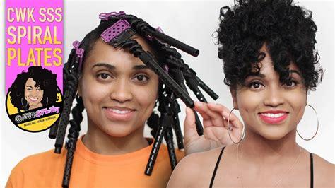 Spiral Curls On Natural Hair