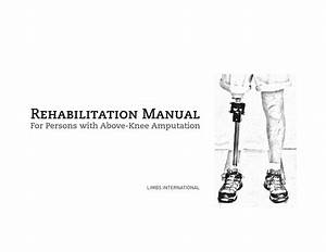 Rehabilitation Manual For Persons With Above