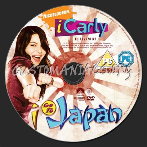 icarly    japan dvd label dvd covers labels