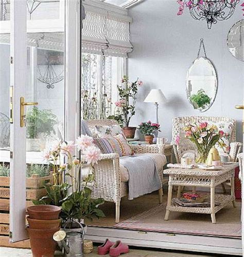 French Country Style Porch Or Sunroom  Porches Pinterest
