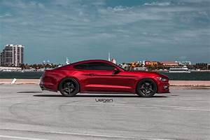 Ruby Red Mustang GT | Classic5 Satin Black | SVTPerformance.com