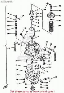 Yamaha Yz125 1981  B  Usa Carburetor