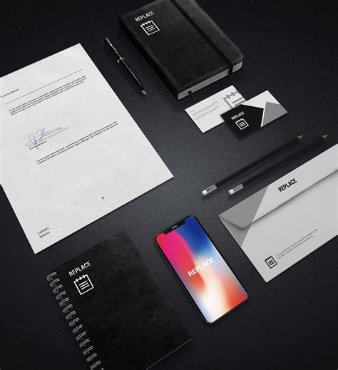 The can mockups serve the best benefit to the business in the present scenario. Stationery Free Mockup PSD · Pinspiry