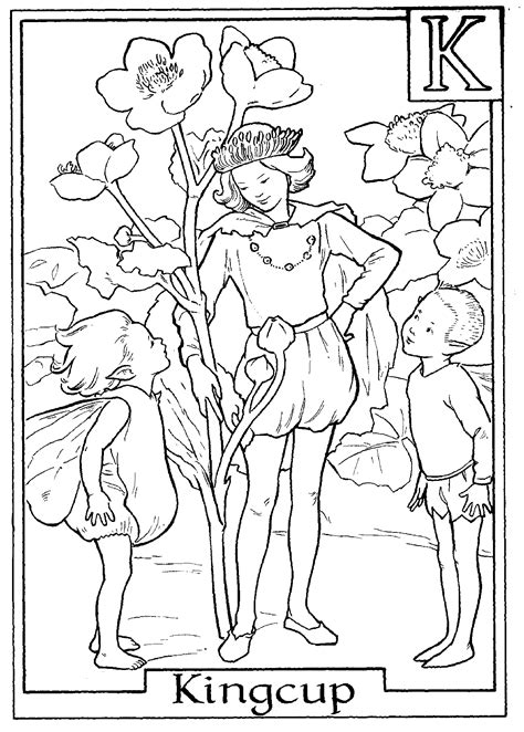 Alphabet Fairies and Coloring pages on Pinterest