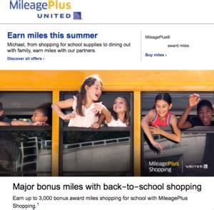 earn    bonus miles  united mileageplus shopping
