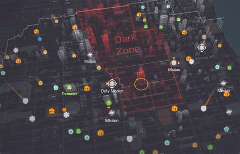 division  hours   dark zone