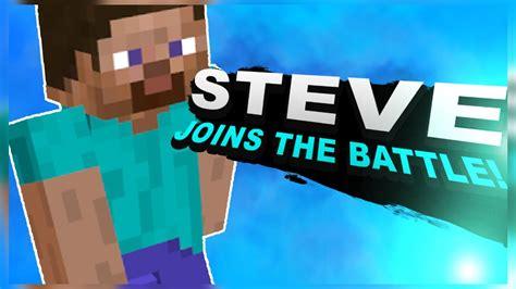 steve  minecraft confirmed  super smash bros
