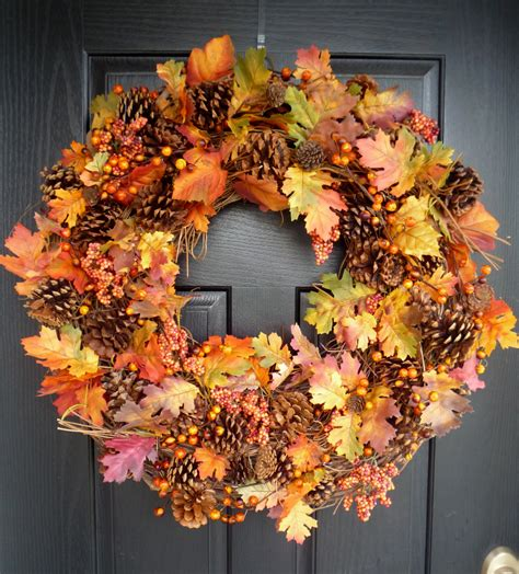 "Crafty Sisters ""plump"" Fall Wreath"