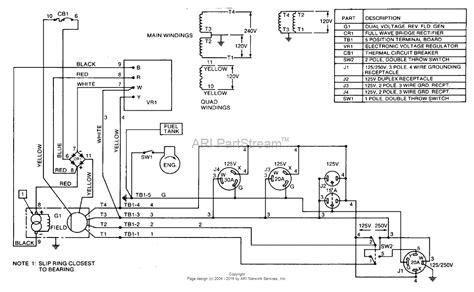 homelite 178b48 heavy duty generator ut 03621 parts diagram for wiring diagram