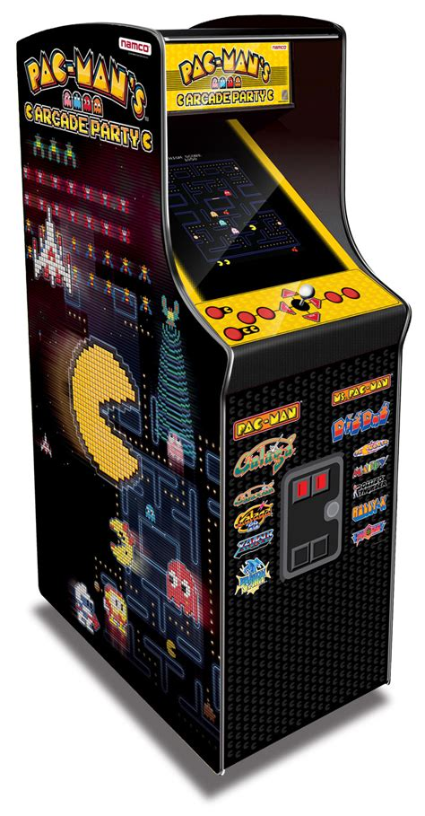 pac man arcade cabinet pac man 39 s arcade party cabinet