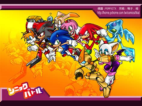 Sonic Battle All Characters By Tikal On Deviantart
