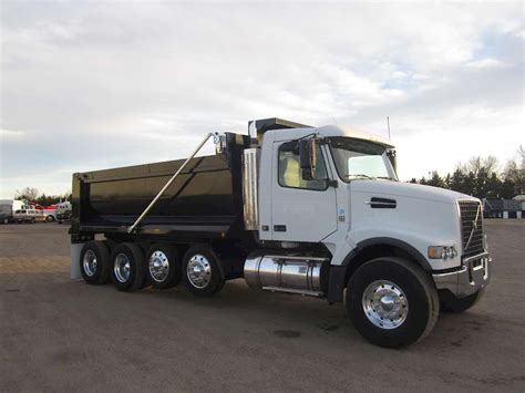 volvo heavy 2008 volvo vhd64b200 heavy duty dump truck for sale