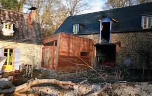 Extension Maison Ancienne : extension maison extension en bois maison et grange ~ Louise-bijoux.com Idées de Décoration