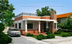 house plans small lot rommell one storey modern with roof deck eplans modern house designs small house