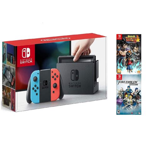 Lost, found, or stolen nintendo switch consoles. Nintendo Switch Neon Console + Fire Emblem Warriors ...