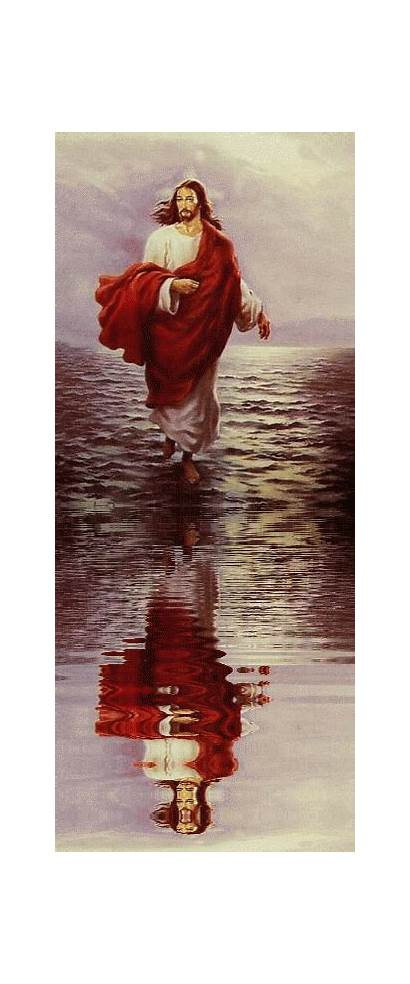Jesus Reflection Water God Lord Christian Reflections