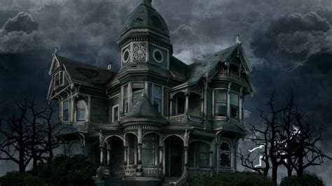 House HD Wallpaper : Haunted House Wallpaper Hd