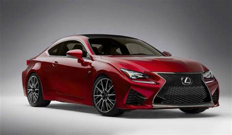 lexus cars red lexus rc f in black gray red yellow lexus enthusiast