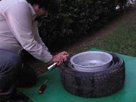 comment monter une chambre a air de velo monter un pneu sur une jante trop large