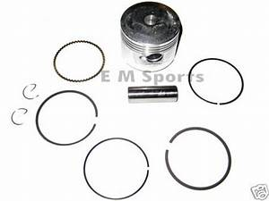 Chinese 49cc 50cc Atv Quad 4 Wheeler Piston Kit W Rings