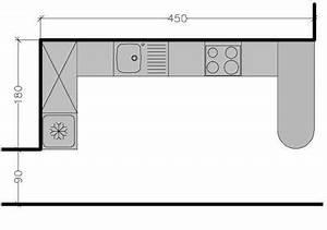 8 plans de cuisine americaine avec un bar cote maison With disposition cuisine en l