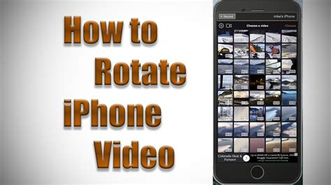 rotate iphone how to rotate iphone footage m j bauer photography