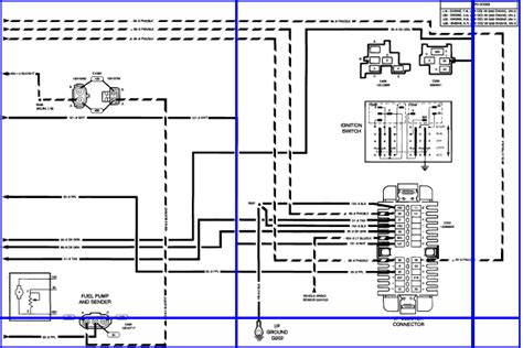 93 Chevy Wiring Diagram by I A 93 Chevy Z71 5 Speed Tbi V8 The Speedometer Will