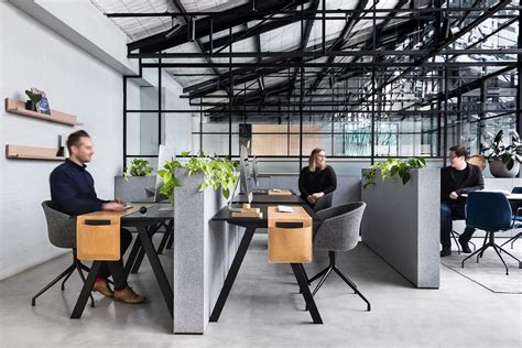 warehouse office design an deco warehouse in melbourne is converted into a Modern