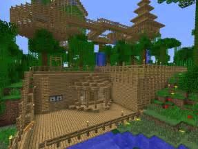 Minecraft Jungle House