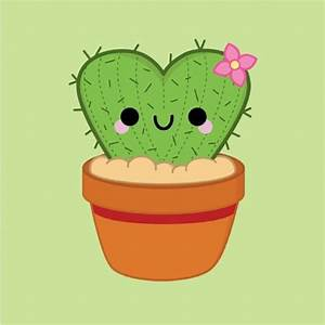 Heart Cactus © pincinc 2014 - I love drawing these! # ...