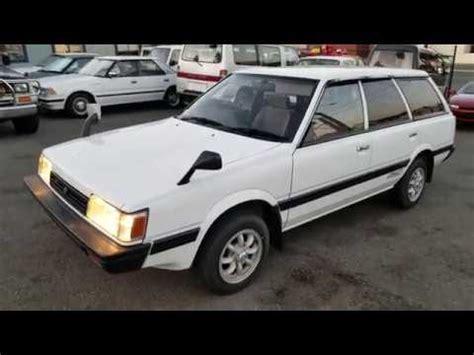 car manuals free online 1985 subaru leone transmission control 1993 subaru leone loyale 4wd youtube