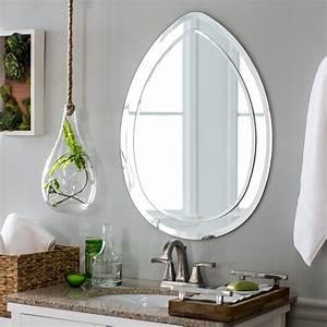 Decor, Wonderland, Droplet, Modern, Bathroom, Mirror, -, 23w, X, 31h, In