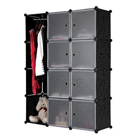 armoire de rangement en metal songmics diy armoire penderie cubes 233 tag 232 re de rangement modulables plastiques imprim 233 cadre en