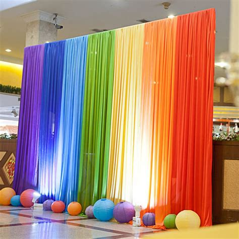 Backdrop Ideas For School by Wedding Backdrops New Arrival Colorful Rainbow Wedding