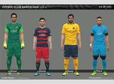 PES 2016 FC Barcelona 1516 Update by Pedro PES Patch