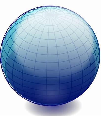 Globe Shape Clipart Earth Clip Vector Ball