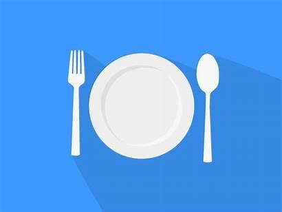 Plate Dance Eating Dribbble Kelli Animation