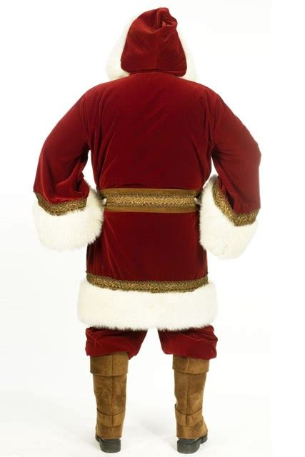 Image result for pictures of santa claus suit on the back of a van