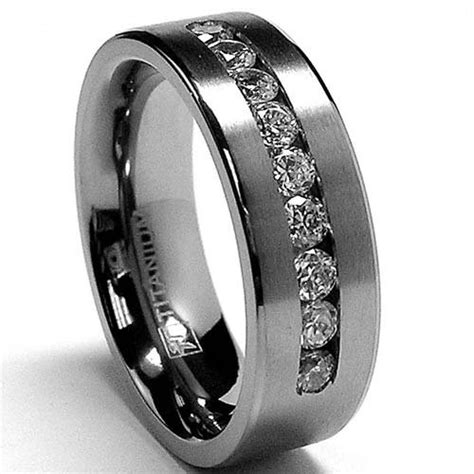 Black Titanium Wedding Rings For Men Unique And Durable. Glamorous Wedding Rings. Cushion Cut Engagement Wedding Rings. Creative Gold Wedding Rings. Amber Stone Engagement Rings. Old Coin Rings. Komal Name Rings. Diamond Halo Engagement Rings. Bird Wedding Rings