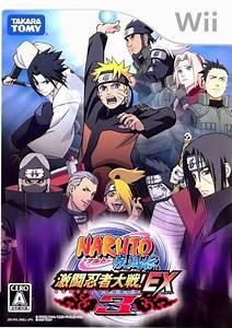 Naruto Shippuden Gekitou Ninja Taisen Ex3 Box Shot For Wii