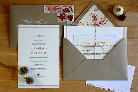 diy ish bridal shower invitations