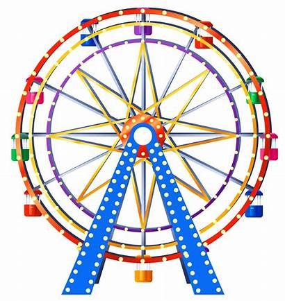 Ferris Wheel Clip Clipart Transparent Background Pink