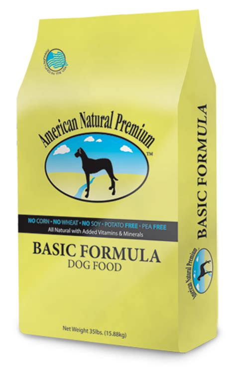 american natural premium basic formula dog food