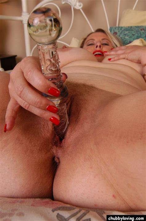 Mature Blonde Bbw Tawni Licks A Sex Toy For Use On Her Fat