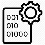 Icon Binary Database Management Software Code Gear