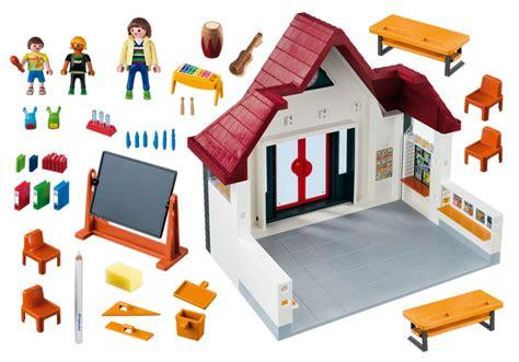 playmobil city 6865 pas cher ecole avec salle de classe