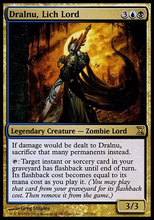 mtg reanimator deck edh dralnu two parts one part reanimator