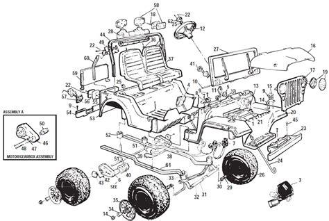 Power Wheels Jeep Parts