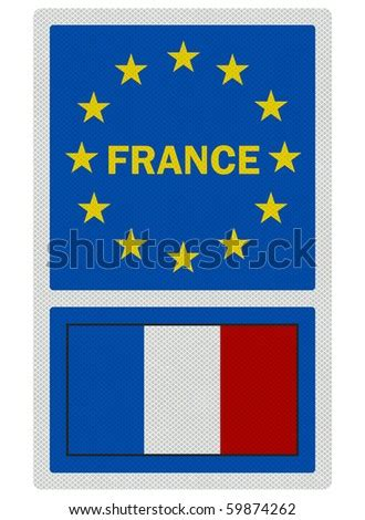 Welcome France In French Photo Realistic Stock ...